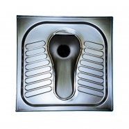 Eastern Style Squatting Stainless Steel Toilet WC Pan