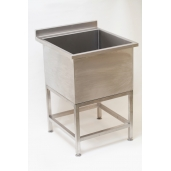 Small Stainless Steel Cleaners Utility Sink