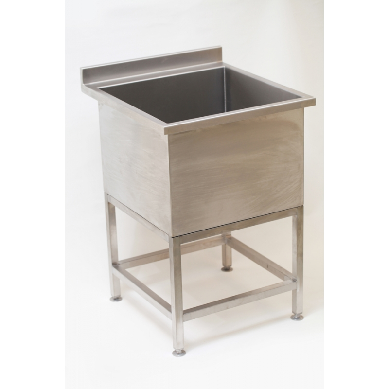 Small Utility Sink : Small Stainless Steel Cleaners Utility Sink