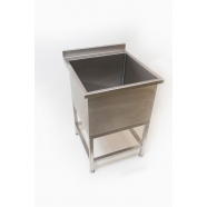 Large Stainless Steel Dog Bath