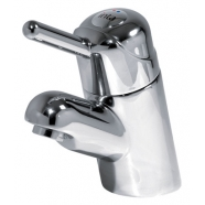 Intatherm sequential thermostatic basin mixer tap