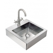 Florence Stainless Steel Hand Wash Basin