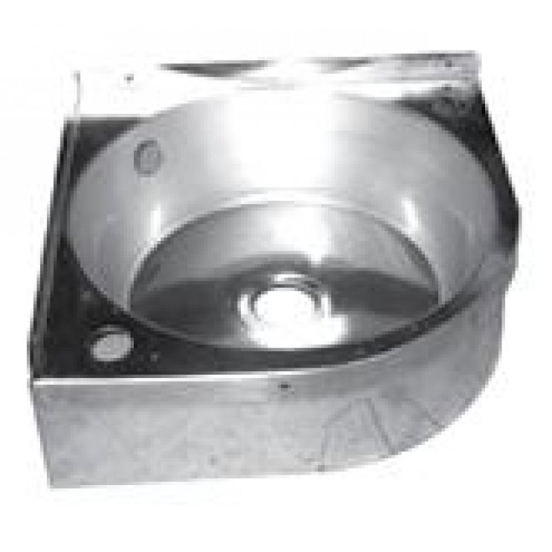 Stainless Corner Sink : Home ? Stainless Steel Corner Wash Basin Sink