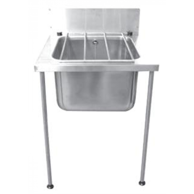 Stainless steel large cleaners bucket sink for Metal bucket sink