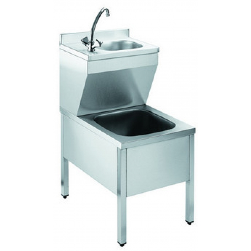 Janitorial Sink : Stainless Steel Janitorial Cleaners Sink