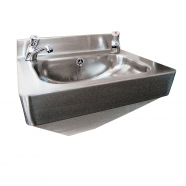 Stainless Steel Shrouded Anti-Vandal Hand Wash Basin