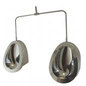 Chur Stainless Steel Individual Pod Urinal kit