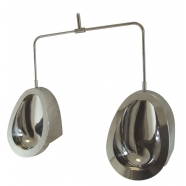Chur Stainless Steel Individual Pod Urinal kit