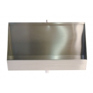 1800mm Coniston Stainless Steel Urinal Trough