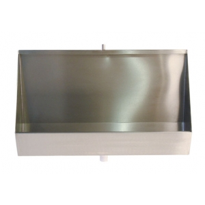 2400mm Coniston Stainless Steel Urinal Trought