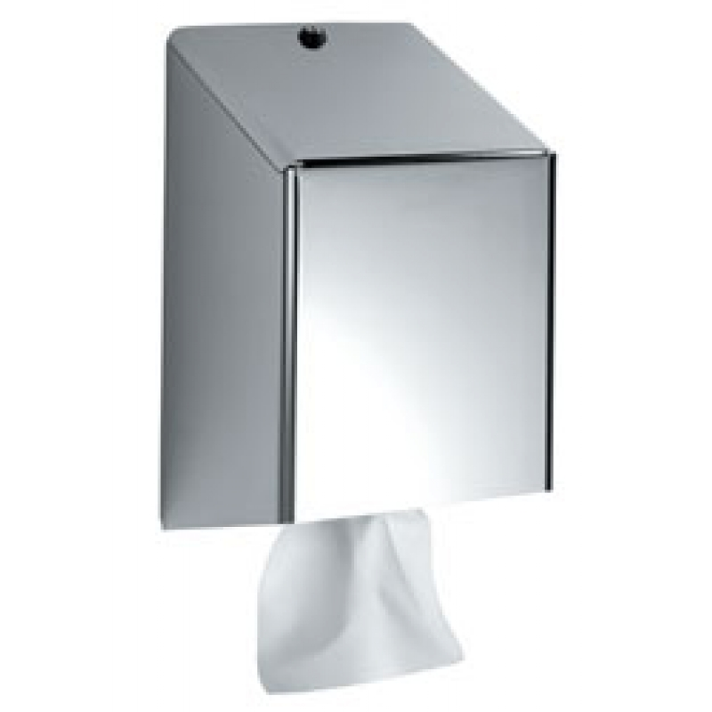 C Feed Stainless Steel Paper Towel Dispenser Brushed