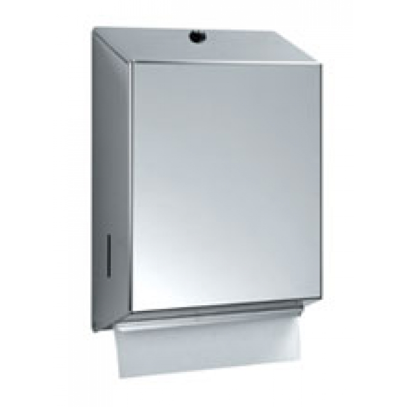 Circeo Stainless Steel Paper Towel Dispenser Brushed Satin Finish